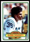1980 Topps #424  Glenn Doughty  Front Thumbnail