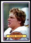 1980 Topps #461  Steve Towle  Front Thumbnail