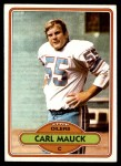 1980 Topps #446  Carl Mauck  Front Thumbnail