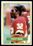 1980 Topps #173  Tony Reed  Front Thumbnail