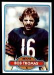 1980 Topps #121  Bob Thomas  Front Thumbnail