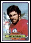 1980 Topps #99  Matt Cavanaugh  Front Thumbnail