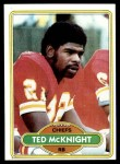 1980 Topps #193  Ted McKnight  Front Thumbnail