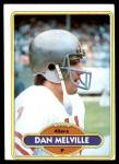 1980 Topps #11  Dan Melville  Front Thumbnail