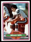 1980 Topps #171  Brian Sipe  Front Thumbnail