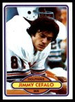1980 Topps #158  Jimmy Cefalo  Front Thumbnail
