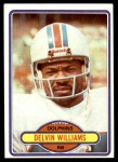 1980 Topps #115  Delvin Williams  Front Thumbnail