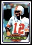 1980 Topps #312  Doug Williams  Front Thumbnail