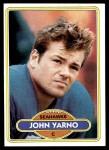 1980 Topps #399  John Yarno  Front Thumbnail