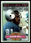 1980 Topps #295   -  David Hill All-Pro Front Thumbnail