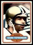 1980 Topps #235  Garo Yepremian  Front Thumbnail