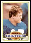 1980 Topps #257  Dan Doornink  Front Thumbnail