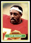 1980 Topps #522  Coy Bacon  Front Thumbnail
