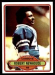 1980 Topps #413  Robert Newhouse  Front Thumbnail