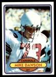 1980 Topps #487  Mike Dawson  Front Thumbnail
