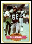1980 Topps #480  Bill Bergey  Front Thumbnail