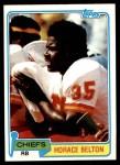 1981 Topps #163  Horace Belton  Front Thumbnail