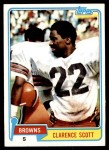 1981 Topps #29  Clarence Scott  Front Thumbnail