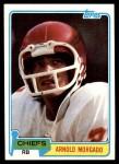 1981 Topps #266  Arnold Morgado  Front Thumbnail