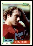 1981 Topps #339  Don Smith  Front Thumbnail
