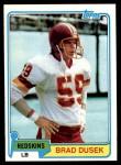 1981 Topps #499  Brad Dusek  Front Thumbnail