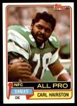 1981 Topps #480  Carl Hairston  Front Thumbnail