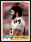 1981 Topps #436  Steve Furness  Front Thumbnail