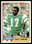 1981 Topps #35  Harold Carmichael  Front Thumbnail