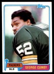 1981 Topps #228  George Cumby  Front Thumbnail