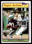 1981 Topps #343  Steve Largent  Front Thumbnail