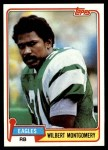 1981 Topps #295  Wilbert Montgomery  Front Thumbnail