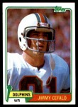 1981 Topps #371  Jimmy Cefalo  Front Thumbnail