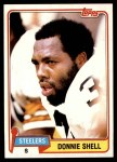 1981 Topps #90  Donnie Shell  Front Thumbnail
