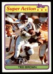 1981 Topps #59  Ted Brown  Front Thumbnail