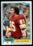 1981 Topps #84  Don Warren  Front Thumbnail