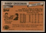 1981 Topps #256  Randy Grossman  Back Thumbnail