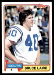1981 Topps #326  Bruce Laird  Front Thumbnail