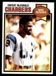 1979 Topps #17  Dwight McDonald  Front Thumbnail