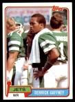 1981 Topps #426  Derrick Gaffney  Front Thumbnail