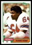 1981 Topps #414  Richard Bishop  Front Thumbnail