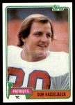 1981 Topps #159  Don Hasselbeck  Front Thumbnail