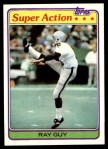 1981 Topps #186  Ray Guy  Front Thumbnail
