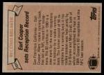 1981 Topps #331   -  Earl Cooper Record Breaker Back Thumbnail