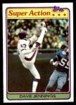 1981 Topps #294  Dave Jennings  Front Thumbnail