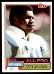 1981 Topps #370  Gary Johnson  Front Thumbnail