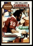 1979 Topps #203  Eric Williams  Front Thumbnail