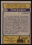 1979 Topps #295   -  Tom Banks All-Pro Back Thumbnail
