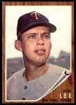 1962 Topps #166 NRM Don Lee  Front Thumbnail