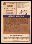 1974 O-Pee-Chee WHA #9  Gerry Pinder  Back Thumbnail
