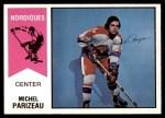 1974 O-Pee-Chee WHA #52  Michel Parizeau  Front Thumbnail